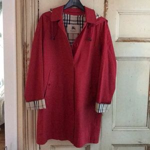 Burberry Raincoat with Detachable Hood
